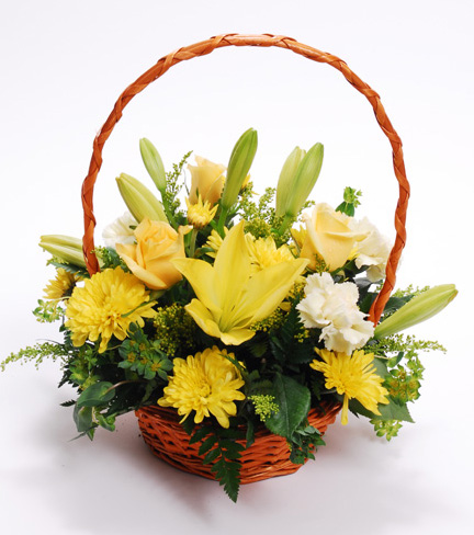 The Yellow Bouquet