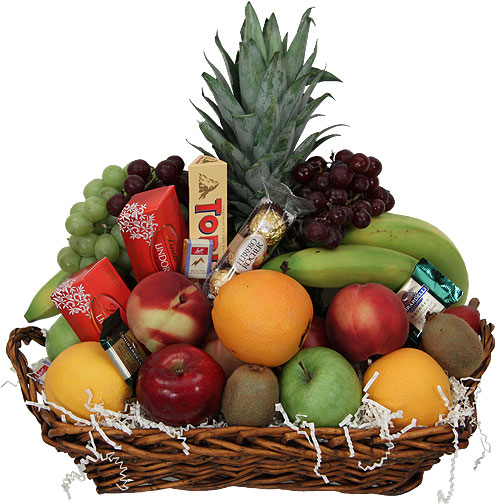 Sofia florist fruit cheese gourmet gift baskets flowers fresh fruit gourmet gift basket negle Images