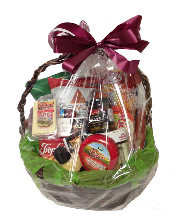 Sofia florist fruit cheese gourmet gift baskets flowers gluten free gourmet basket negle Choice Image