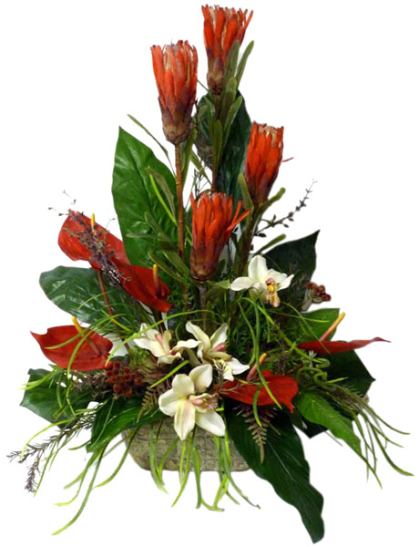 Sofia florist silk flowers plants flowers delivery sofia silk tropical arrangementv19 mightylinksfo